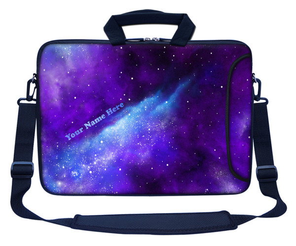 Customized Name Laptop Bag (Side Pocket) 3129