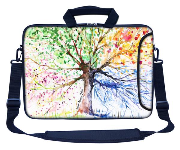 Customized Name Laptop Bag (Side Pocket) 3152
