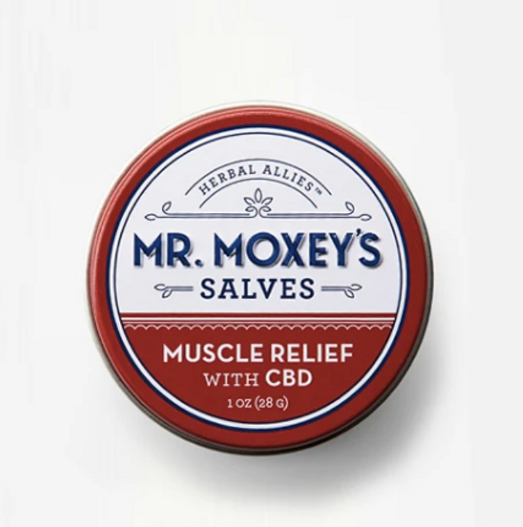 Mr Moxey's MUSCLE RELIEF CBD Salve - Free Delivery Today for all CBD products to the Seattle Area