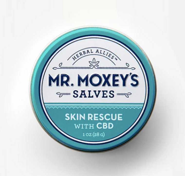 Mr Moxey's SKIN RELIEF CBD Salve - Free Delivery Today for all CBD products to the Seattle Area