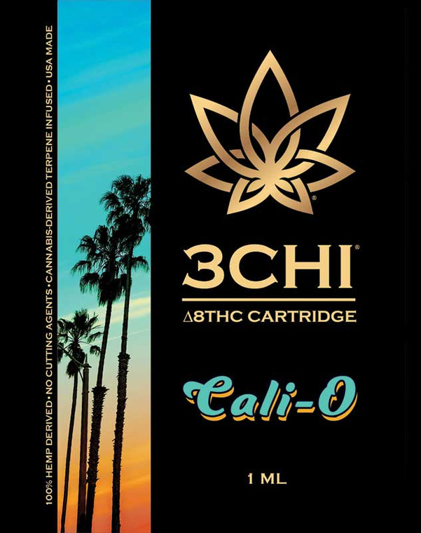 Our Delta-8 THC vape cartridge is the most potent Delta-8 cart available and contains 95% hemp-derived ∆8THC oil and 5% terpenes.