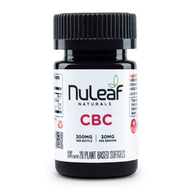 NuLeaf Naturals, premium CBC Gel Caps - Free Delivery Today for all CBD products to the Seattle Area