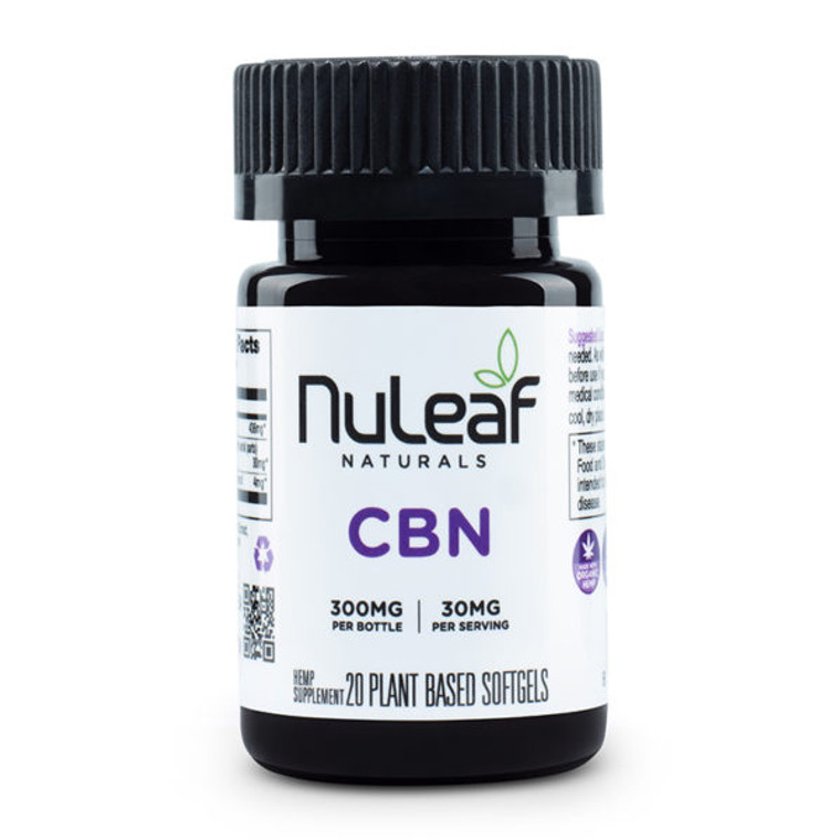 NuLeaf Naturals, premium CBN Gel Caps - Free Delivery Today for all CBD products to the Seattle Area