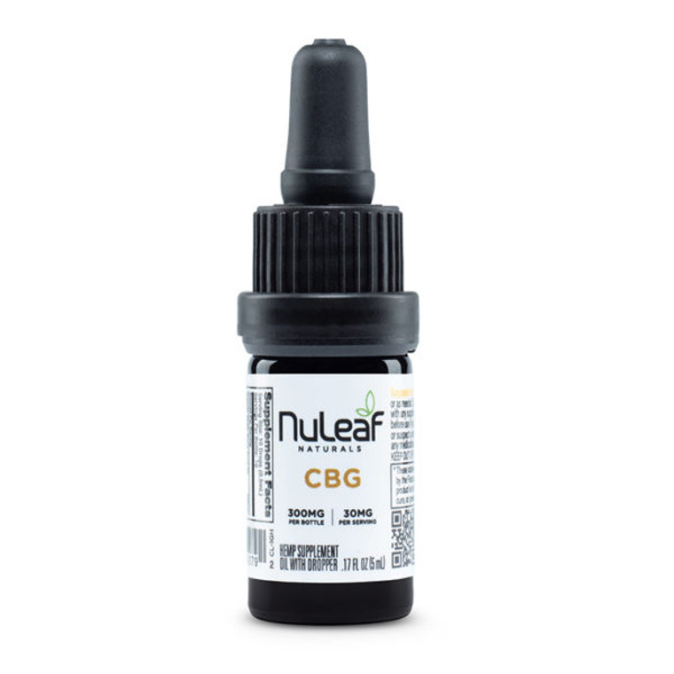 NuLeaf Naturals, premium CBG tinctures - Free Delivery Today for all CBD products to the Seattle Area