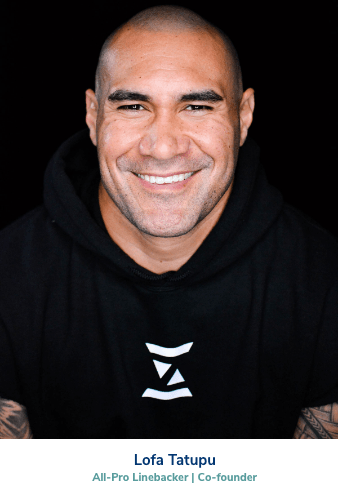 Lofa Tatupu, Zonein CBD brand co-founder and All pro linebacker
