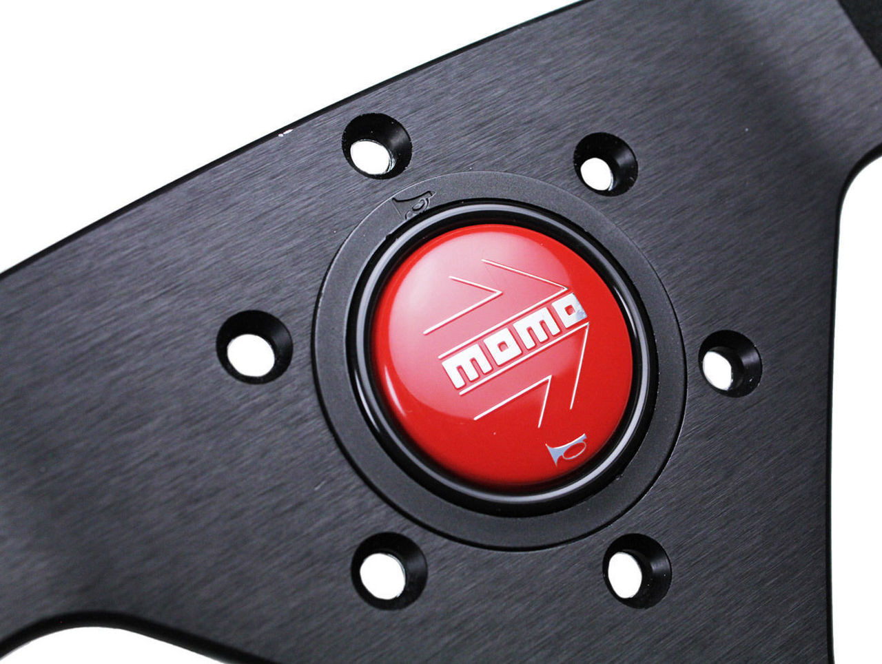 MOMO MONTECARLO ALCANTARA BLACK & RED