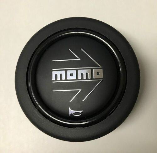 MOMO HORN BUTTON BLACK LARGE