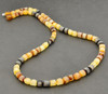 Men's Necklace Made of Healing Baltic Amber