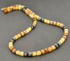 Men's Necklace Made of Healing Precious Amber