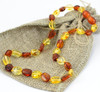 Amber Necklace for Teething