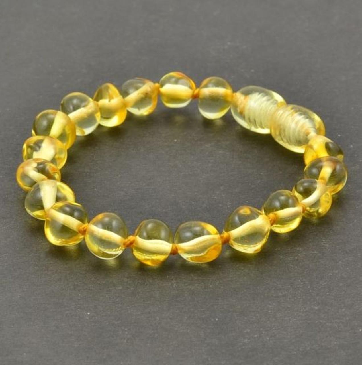 Baltic amber lemon bracelet Amber bracelet for adults Amber bracelet Lemon Baltic amber Amber bracelet Baltic amber Unique color amber