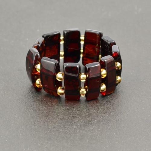 Baltic Amber Healing Ring