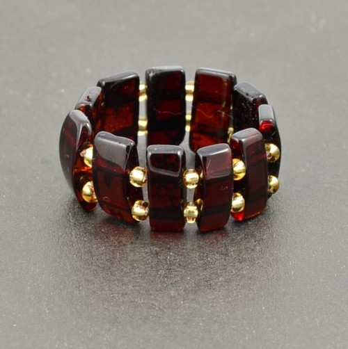 Baltic Amber Healing Ring