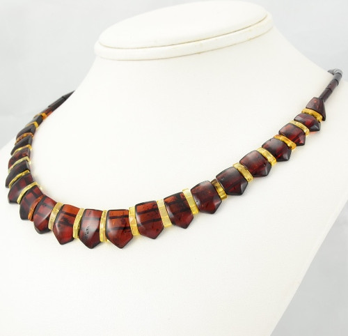 Cleopatra Amber Necklace - SOLD OUT