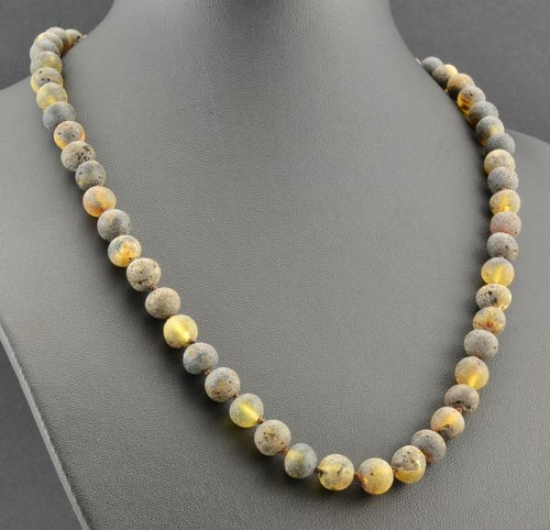 raw adult amber necklace
