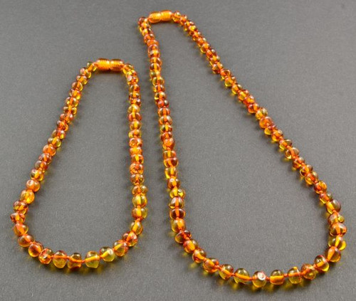 Baltic Amber Necklace Set