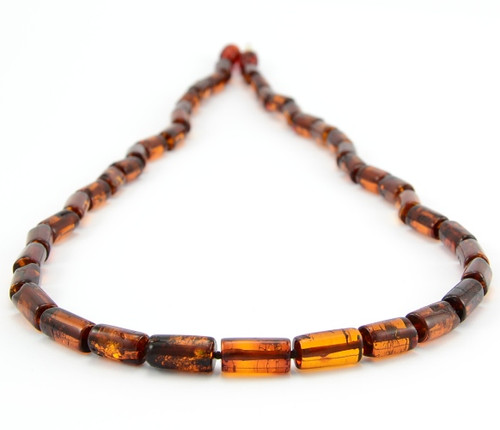 Men's amber necklace