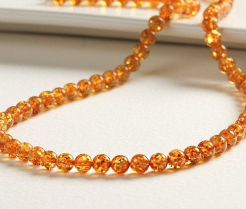Amber Amber Necklace