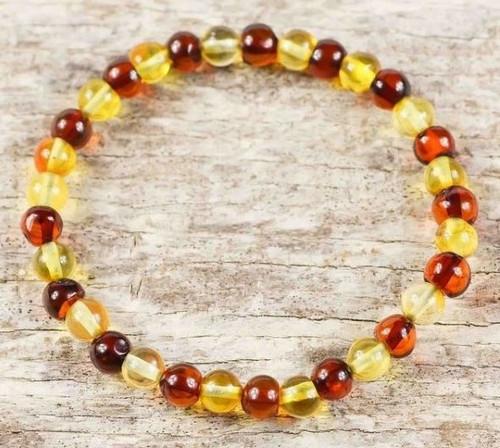 Amber Healing Bracelet