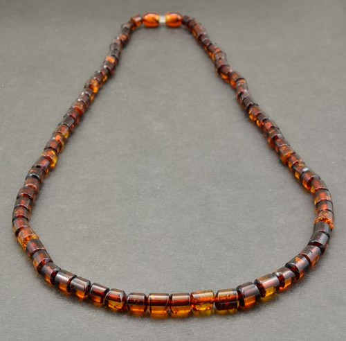 Men's Necklace Handmade of Amazing Healing Baltic Amber