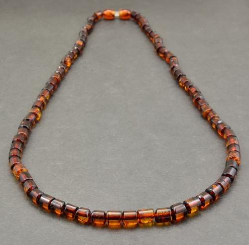Men's Necklace Handmade of Amazing Healing Baltic Amber