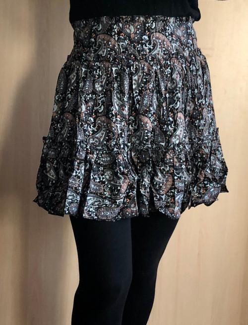 Paisley Frill Skirt