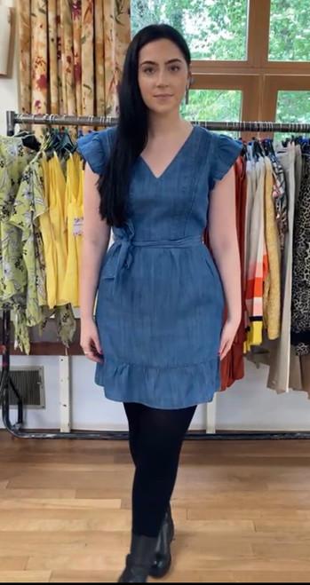 Mid Blue Denim Dress