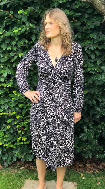 Pebble Print Dress