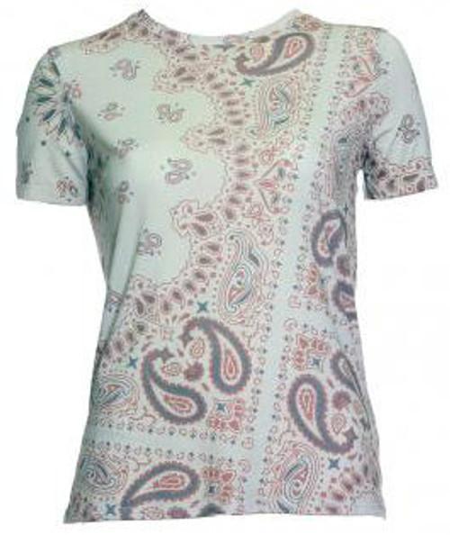 Beige Paisley T Shirt