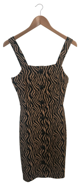 Animal Print Pinafore