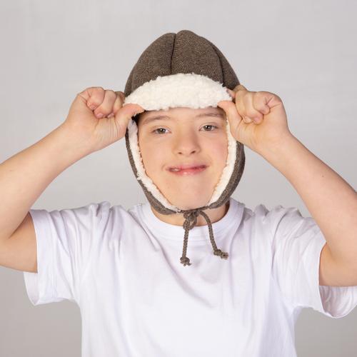 Ribcap - Schutzhelm medizinischer Qualität - Bieber