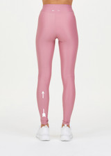 SOLID YOGA PANT  - PINK [USW221050]