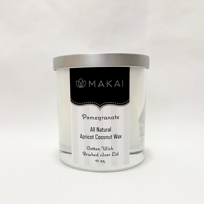 """""""Sold Out"""" All Natural Apricot Coconut Wax Candle  11 oz Tumbler - Pomegranate"""