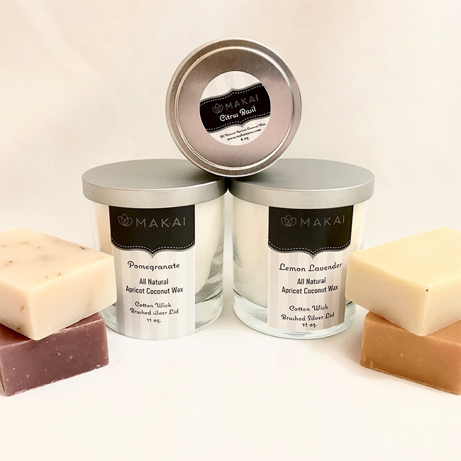 """""""Sold Out"""" All Natural Apricot Coconut Wax Candle  11 oz Tumbler - Angel"""
