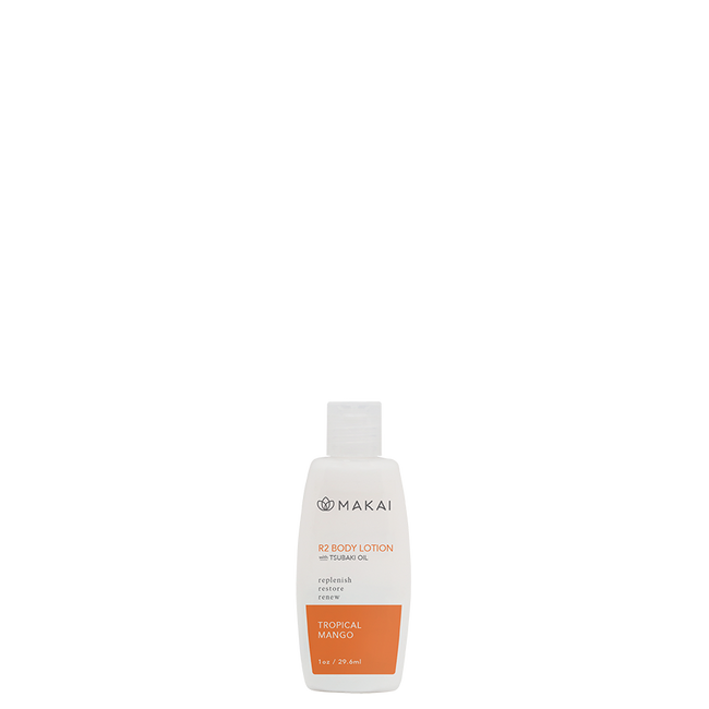 R2 Body Lotion 1oz Trial Size Tropical Mango