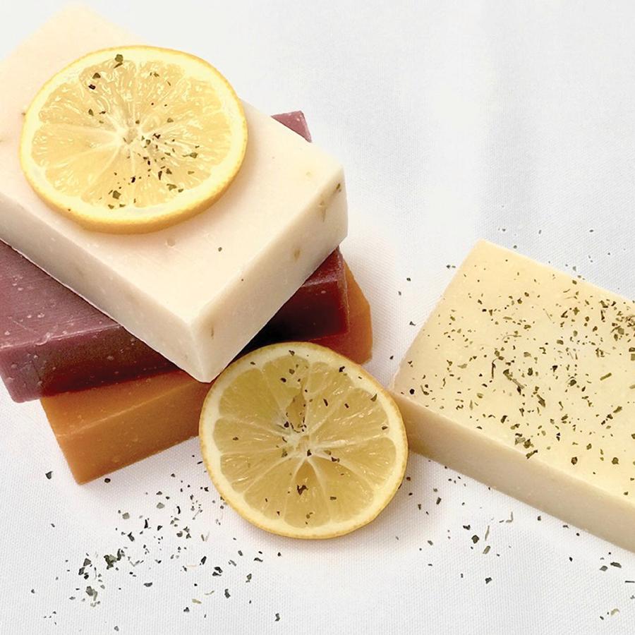 Certified Organic Fresh Lemongrass Tea Botanical Soap 4 oz