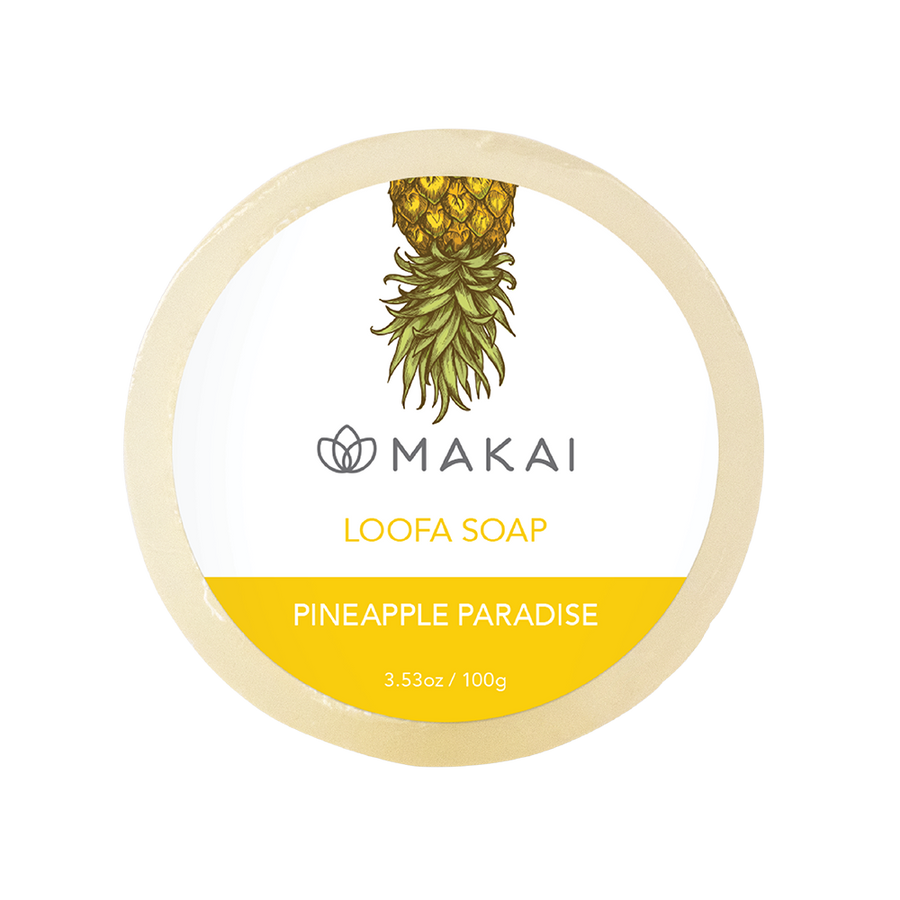 Loofa Soap - Gently Exfoliate - Pineapple Paradise