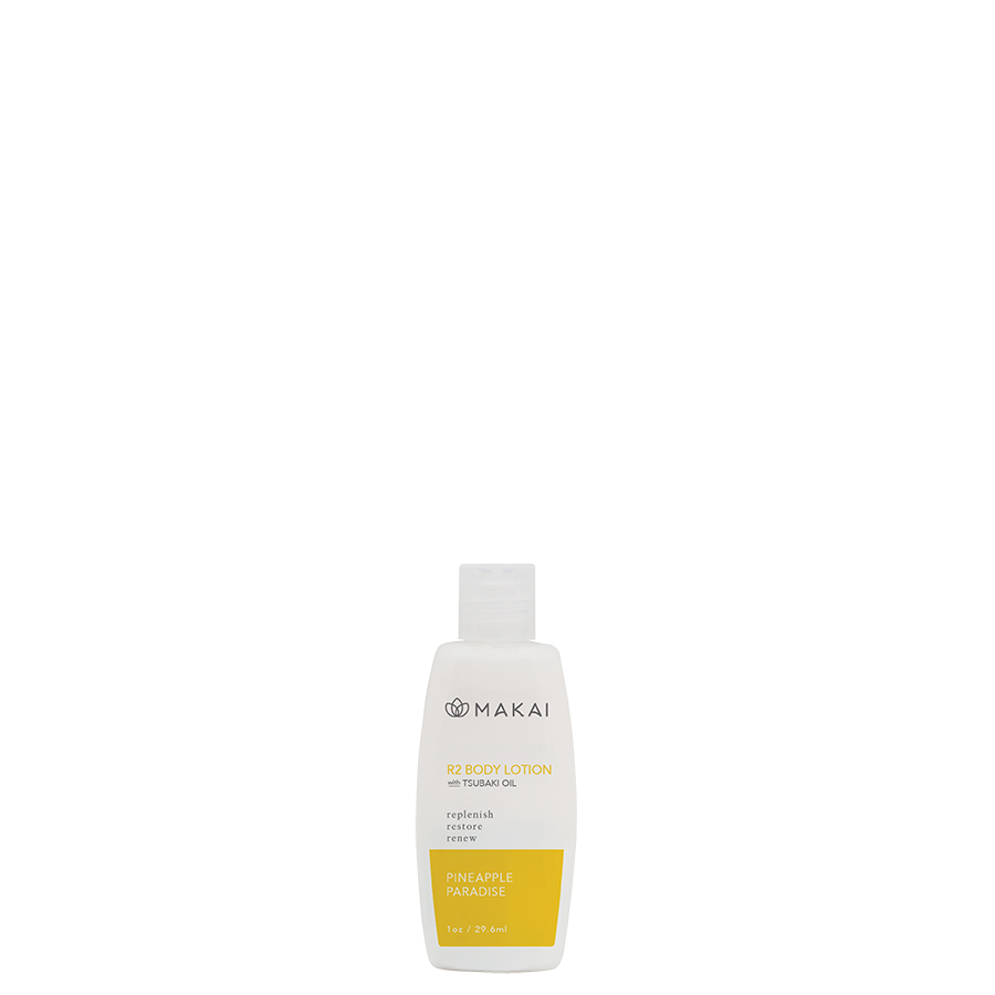 R2 Body Lotion 1oz Trial Size Pineapple Paradise