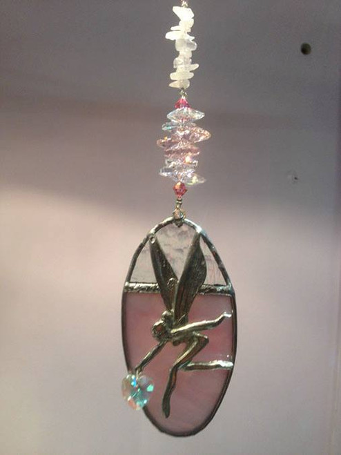 Fairy on Pond SunCatcher