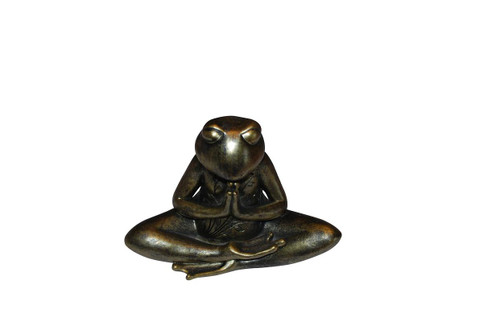 Meditating Frog Statue (Prayer)