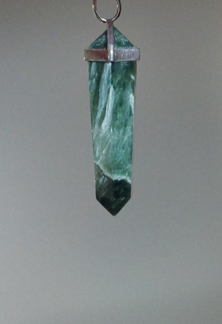 Seraphinite Pendant