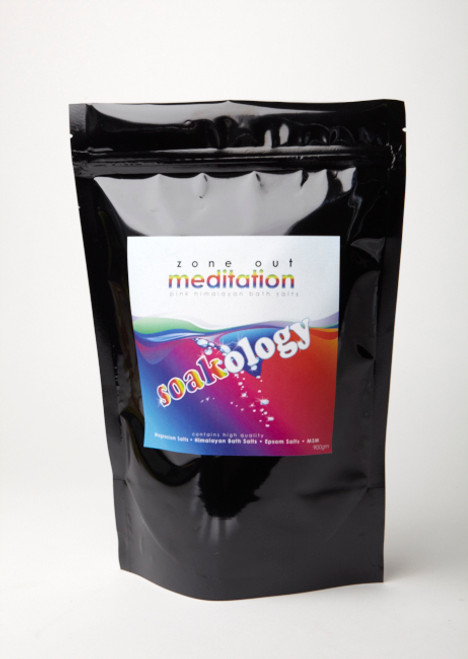 Soakology Bath Soak - Meditation  900g