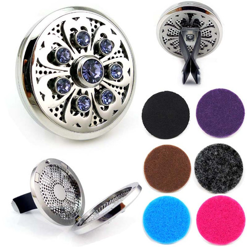 Aromatherapy Car Diffuser - Bling