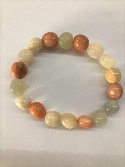 Mixed Moonstone Bracelet