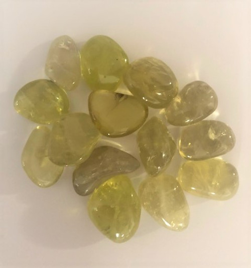 Lemon Quartz Tumbled Stones