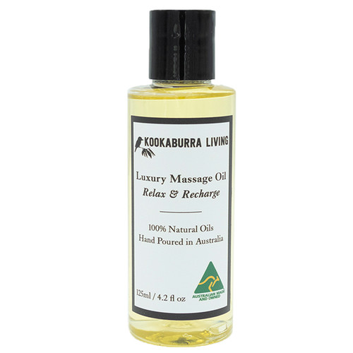 Relax & Recharge Massage Oil