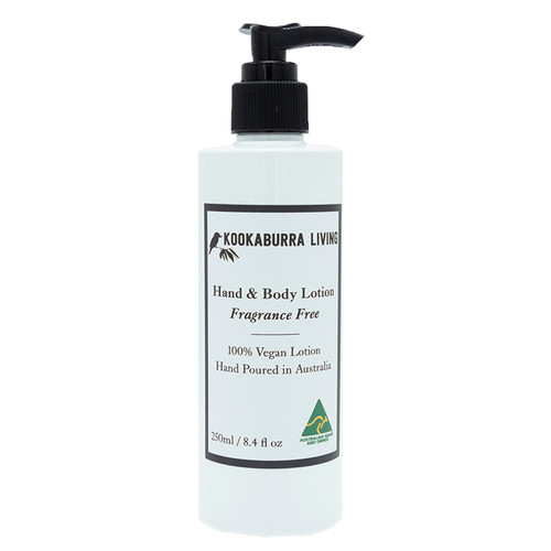 Fragrance Free Hand & Body Lotion