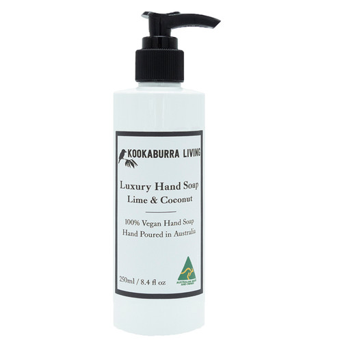 Lime & Coconut Luxury Hand Soap