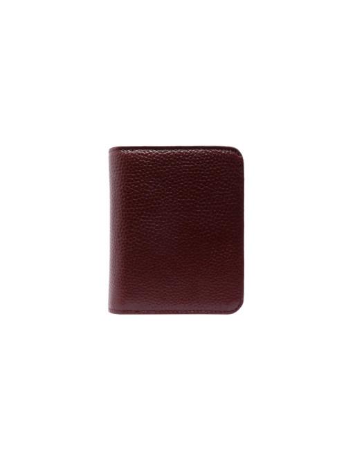 Faith Small Leather RFID Wallet - Plum