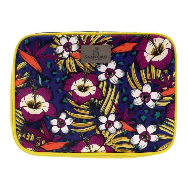 Tropic - Large Cosmetic Case - Jewel